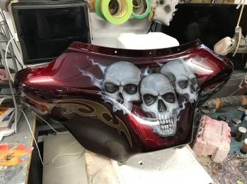 Kandy skull trike
